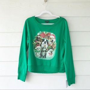 Fifth Sun Christmas Dog Cat Sweater Corgi
